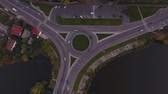 тележка : Round road from above