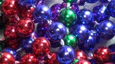colar : Beads, Costume Jewelry Stock Footage