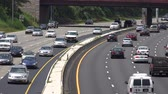 heavy : Heavy Traffic, Traffic Jam, Cars, Automobiles, Trucks Stock Footage