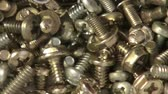 silindir : Screws, Nuts, Bolts, Nails Stok Video