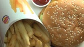 babeczka : Hamburgers, French Fries, Fast Food
