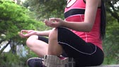 mind body soul : Meditation, Relaxation, Rest Stock Footage