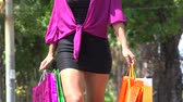 gastos : Woman Shopping, Consumer Stock Footage