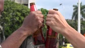 saúde : Beer, Alcohol, Beverages Stock Footage
