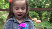 pamięć : Happy Toddler with Flowers