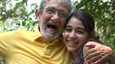 bağıl : Grandfather and Granddaughter in Forest