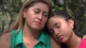 dcera : Mother and Daughter Sad or Tired Dostupné videozáznamy