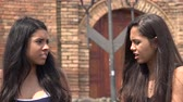 emocional : Teen Girls Having an Argument