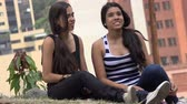irmãs : Friends or Sisters Sitting Together