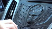 Car Radio on Dashboard