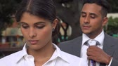 sexo : Sexual Harassment In The Workplace Stock Footage