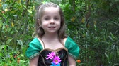 garden flowers : Young Princess in Flower Garden