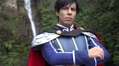 nobre : Male Cosplay Prince Outfit Stock Footage