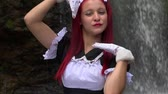szafy : Cosplay Girl In Maid Costume