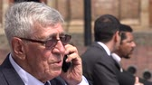 nyugdíjas : Upset Or Disappointed Boss Or Senior Executive Talking On Phone