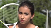 Teen Female Tennis Player