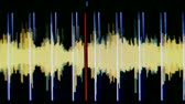 decibels : music graphic equalisers and audio analysis clip,