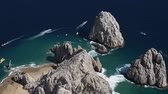 los arcos : los cabos in baja califonia sur, mexico, shot from the air in a light aircraft