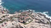 los arcos : los cabos in baja califonia sur, mexico, shot from the air from a light aircraft Stock Footage