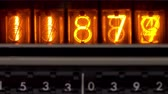 nixie : A numerical counter and number sequence filmed with an old nixie tube counting machine