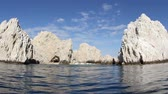 los arcos : the los arcos rock formation shot from a boat, baja california sur, mexico
