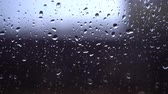 수분 : Autumn, raindrops run down the dark glass. 무비클립