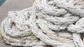 текстура : Rope used for fishing boats And passenger ships