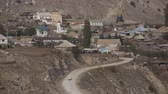 moslem : Road to a high mountain village in Caucasus