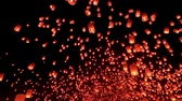 sky : Thousand of Thai Sky lantern