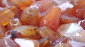 кулон : Close up of Ancient Carnelian stone Beads