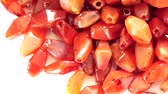 кулон : Close up of Ancient Carnelian Beads