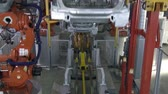 car : Automobile factory. Car production. Wideo