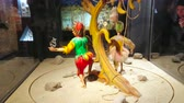 střídat : SALZBURG, AUSTRIA - FEBRUARY 27, 2019: The vintage puppets, exhibited in Marionette museum, located in Prince cellars of Hohensalzburg castle, on February 27 in Salzburg