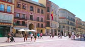 constituição : MALAGA, SPAIN - SEPTEMBER 26, 2019: Calle Larios is one of the scenic city destinations with Classical edifices, restaurants and stores, on September 26 in Malaga