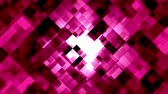 mozaika : Mosaic pattern of red ruby. Brightly shining. Seamless loop background.