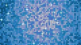 lentejoula : Shining spangles of blue. Dot lights reflecting and sparkling. Seamless loop. Vídeos