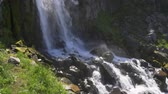 eroze : Waterfall from the volcanic glacier in Kamchatka