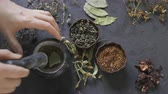shabby : Alternative medicine, dried herbs