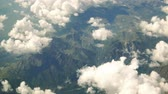 The view from the plane on the ridge. Stock Footage