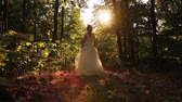 conto : Beauty Princess Fairy Tale Running Forest Young Woman HD