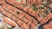 зрелище : Aerial Church City Roof Architecture Drone Town Europe Tourism Travel House Landmark Residential Famous Tower Portugal Road History