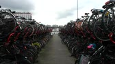 bilhete : ample bicycles parking in the city.