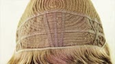 peruca : Underside of the wig