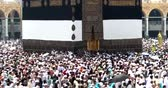 kaaba : MECCA, SAUDI ARABIA, Semtember  2016 - Muslim pilgrims from all over the world gathered to perform Umrah or Hajj at the Haram Mosque in Mecca, Saudi Arabia