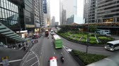 Hong Kong - JULY 29, 2014: Busy traffic on July 29 in Hong Kong, China. Hong Kong has very intensive road traffic