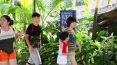 Singapore - AUGUST 5, 2014: Jurong bird park on August 5 in Singapore. Jurong bird park is popular tourist destination in Singapore