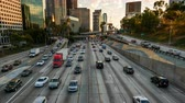 congestionamento : Downtown Los Angeles Rush Hour Traffic Timelapse