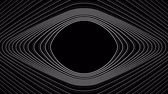 string : Spiral Slow flowing black and white particle vector abstract background Computer Designed Animation - uhd ultra hd 4k 4096 quad. Stock Footage