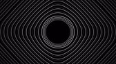 görüntüleri : Spiral Slow flowing black and white particle vector abstract background Computer Designed Animation - uhd ultra hd 4k 4096 quad. Stok Video