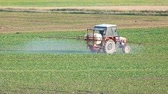 chemical spraying tractor